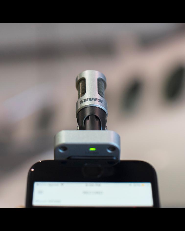 Microfono Portatil Mv88/A Shure