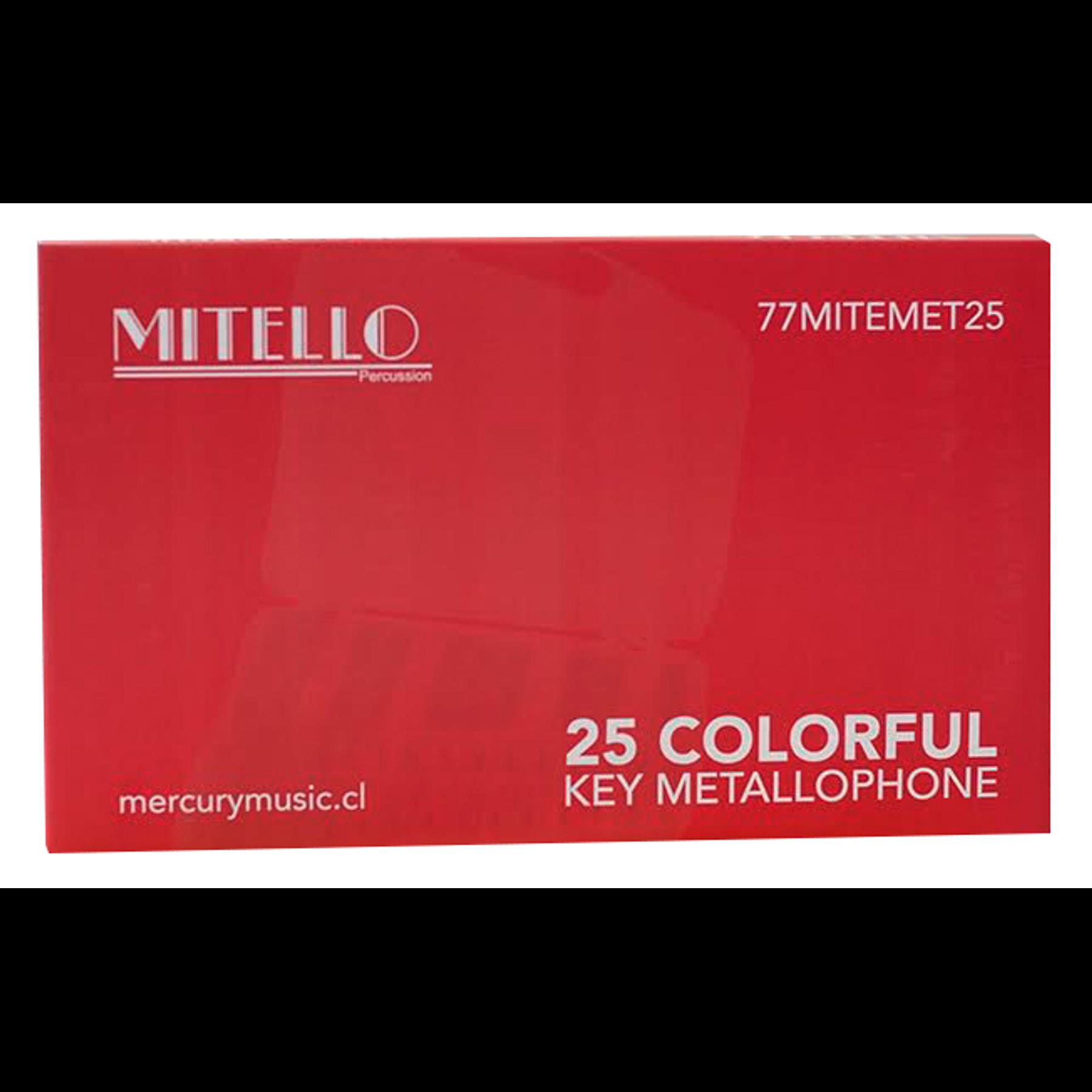 Metalofono 25 Notas Cromatico