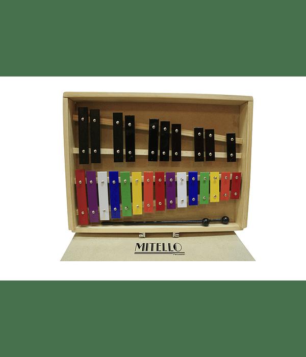 Metalofono Cromatico 25 notas - Madera