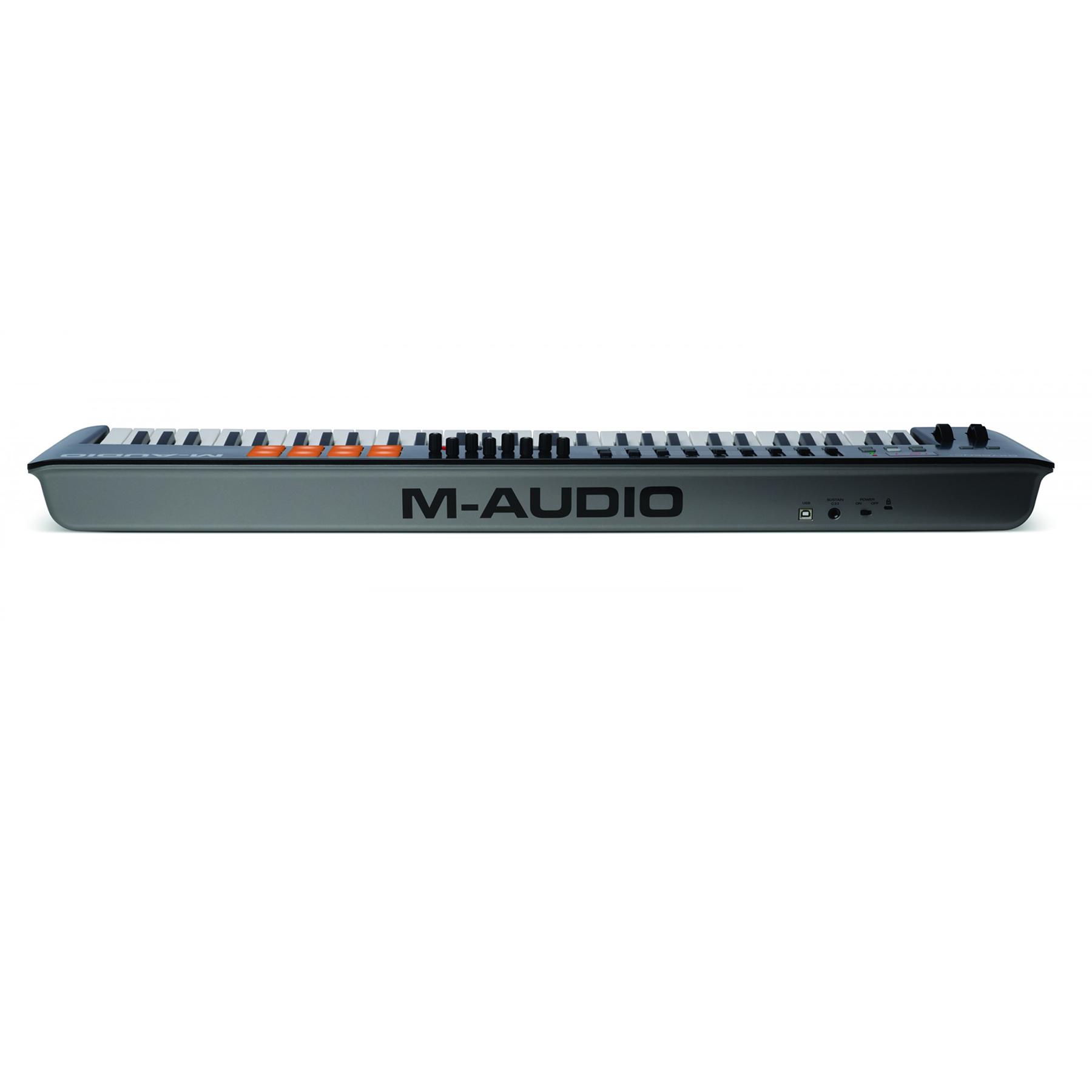Controlador Midi Oxygen 61 IV M-Audio