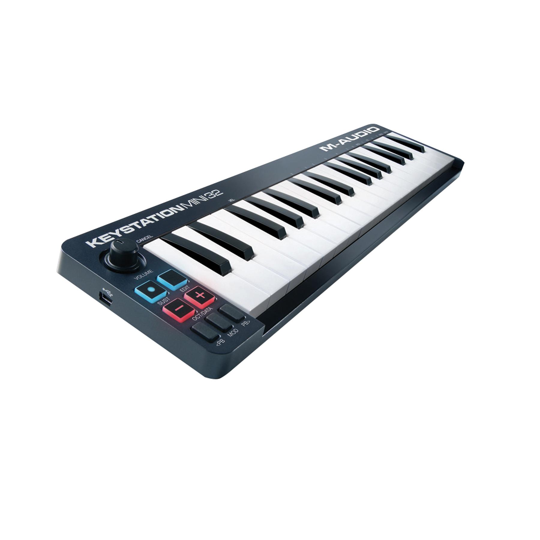 Controlador Midi Keystation Mini 32 M-Audio
