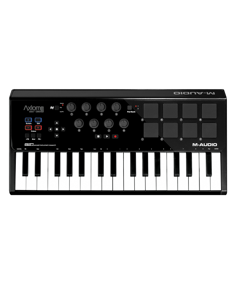 Controlador MIDI Axiom AIR Mini 32 M-Audio