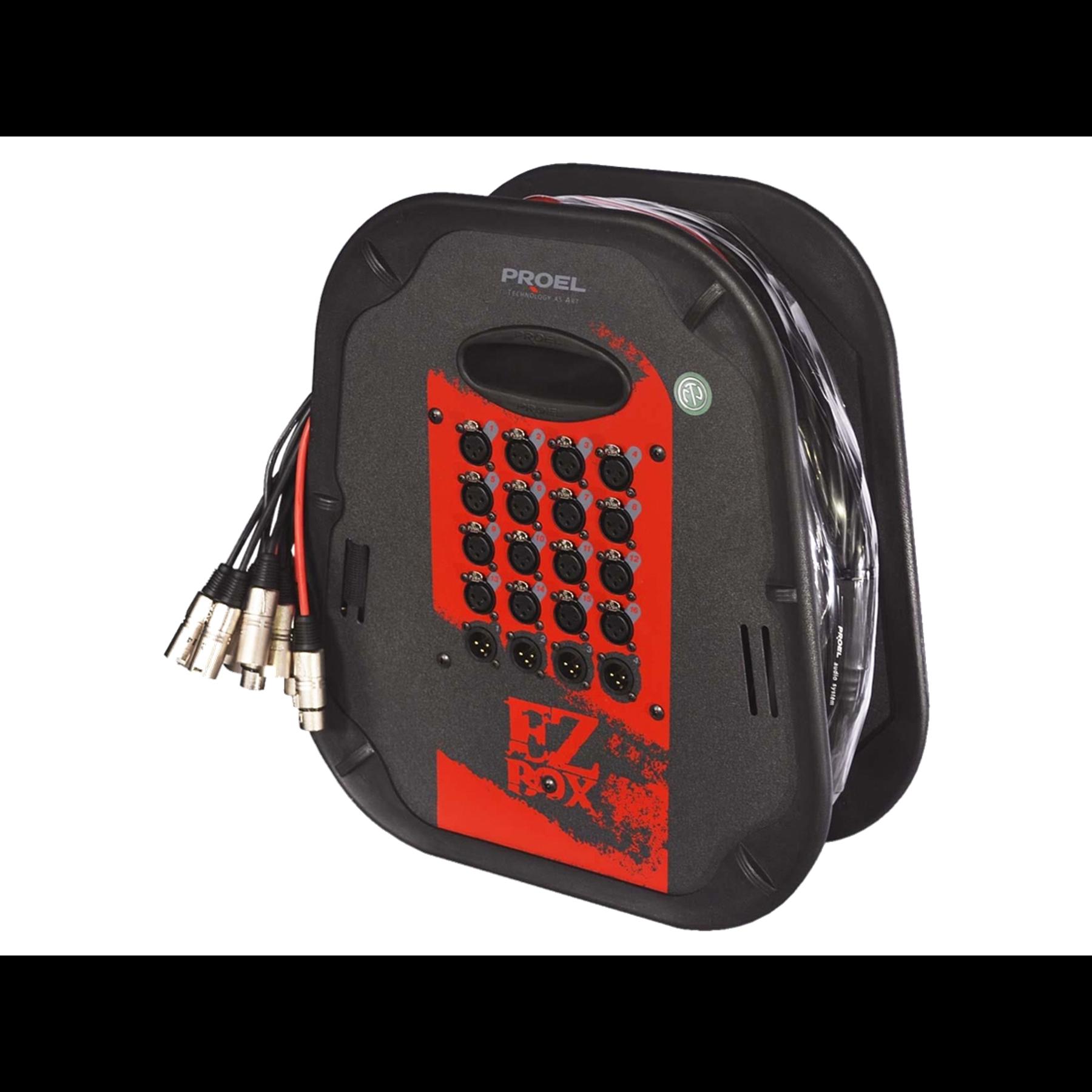 Multipar Ezbox1604 16xlr - 4xlr X 15 Mts Proel
