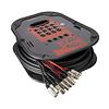 Multipar Ezbox1204 12xlr - 4xlr X 15 Mts Proel