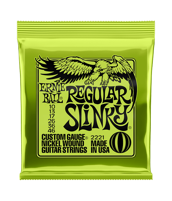 Cuerdas Regular Slinky 2221 Ernie Ball