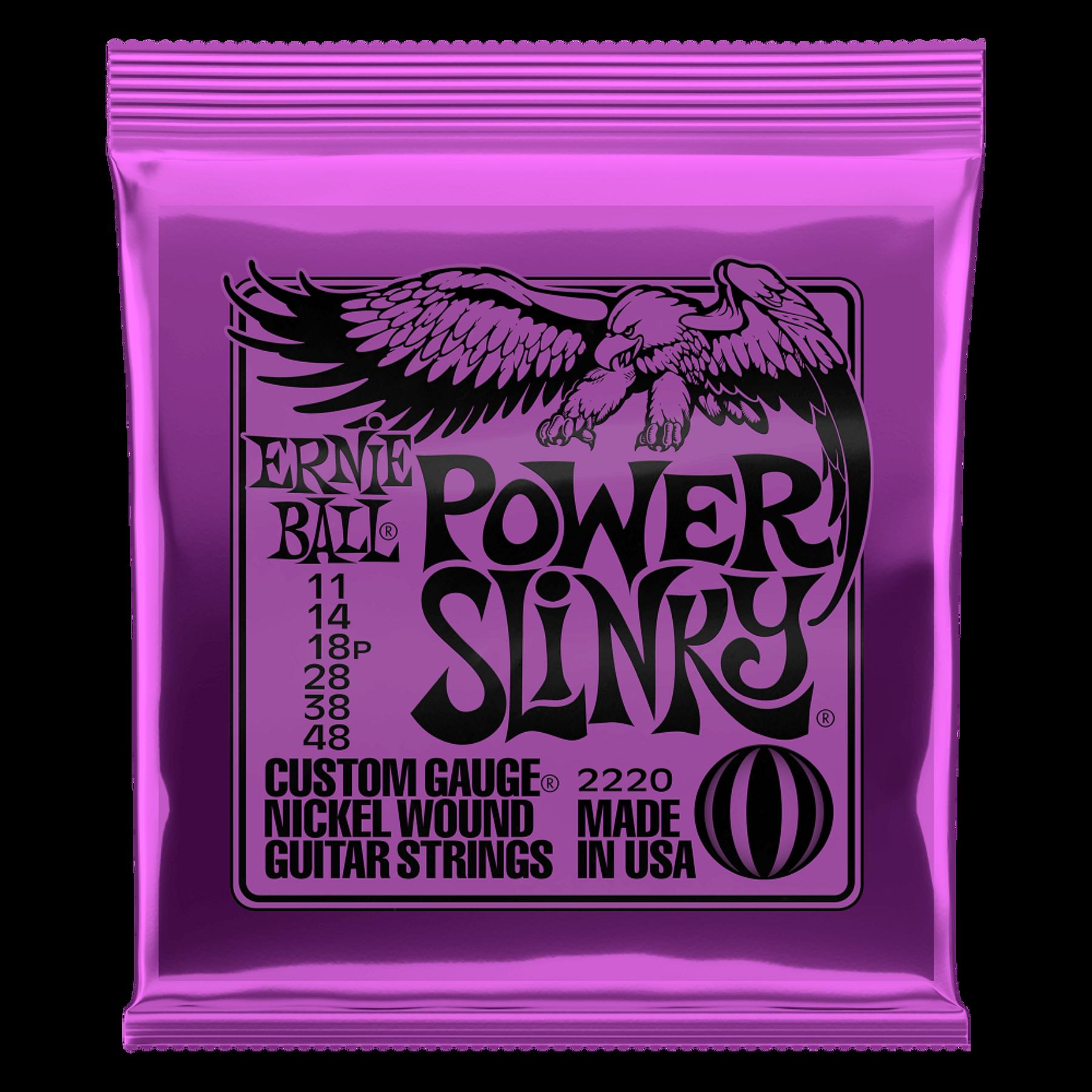 Cuerdas Power Slinky 2220 Ernie Ball