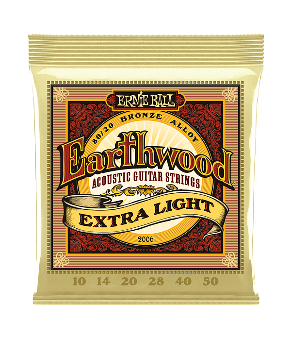 Cuerdas Earthwood 80/20 Bronze Acoustic Extra Light 2006 Ernie Ball