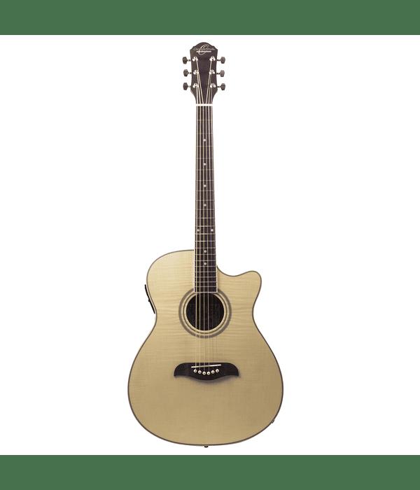 Guitarra Electroacustica Auditorium Oscar Schmidt - Natural