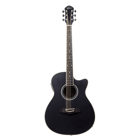 Guitarra Electroacustica Auditorium Oscar Schmidt - Negro