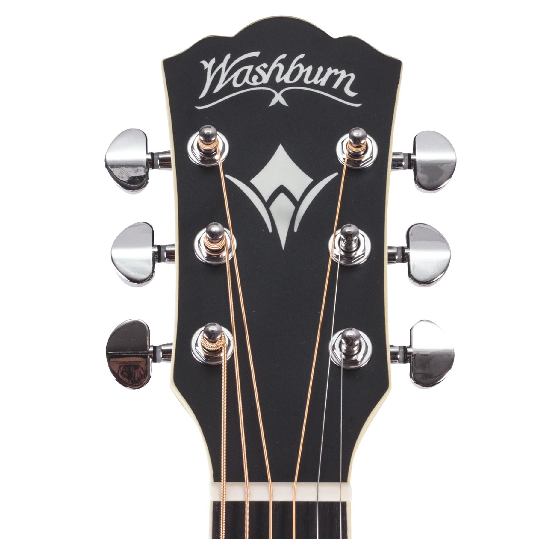Guitarra Electroacustica WF18CEB Washburn -Mate
