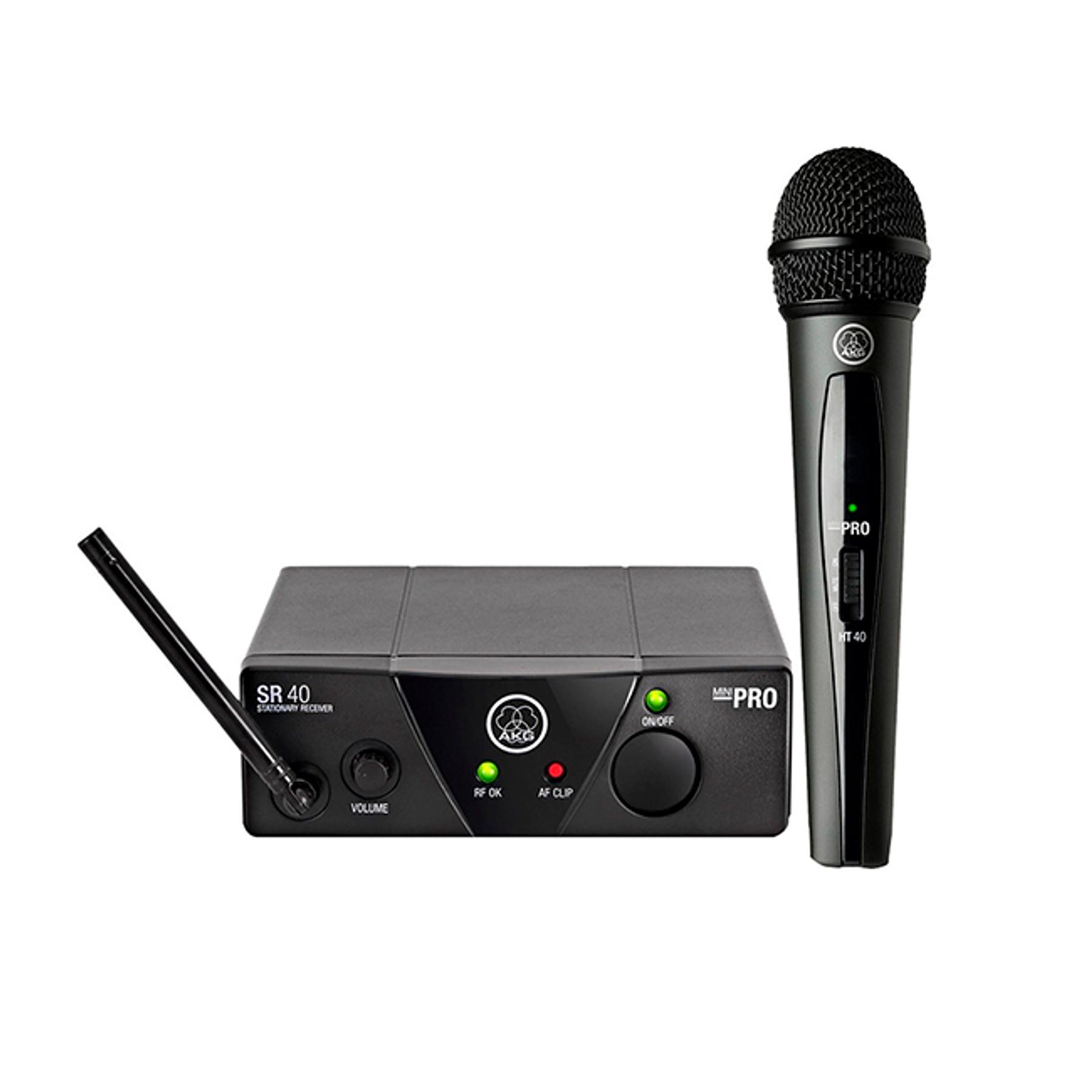 Set Micrófono inalámbrico WMS40 MINI -Akg