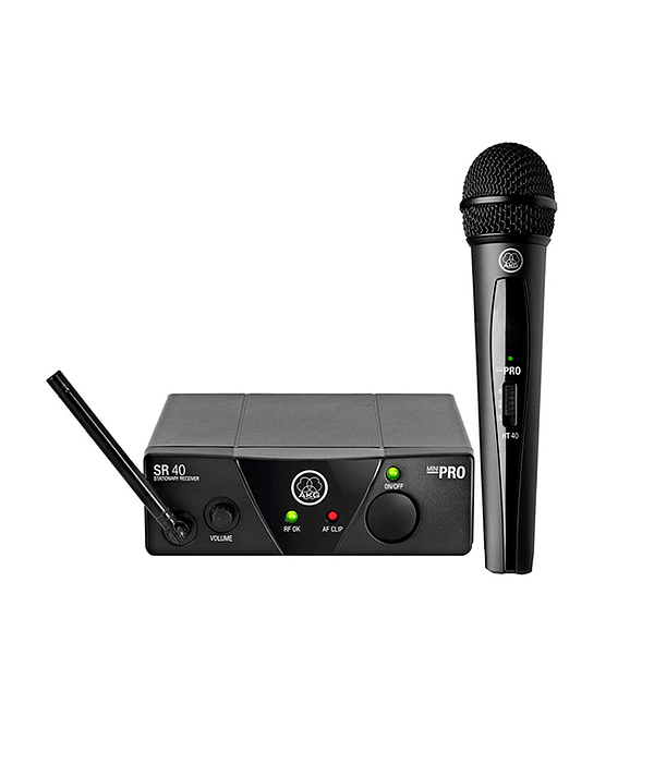 Set Micrófono inalámbrico WMS40 MINI -Akg