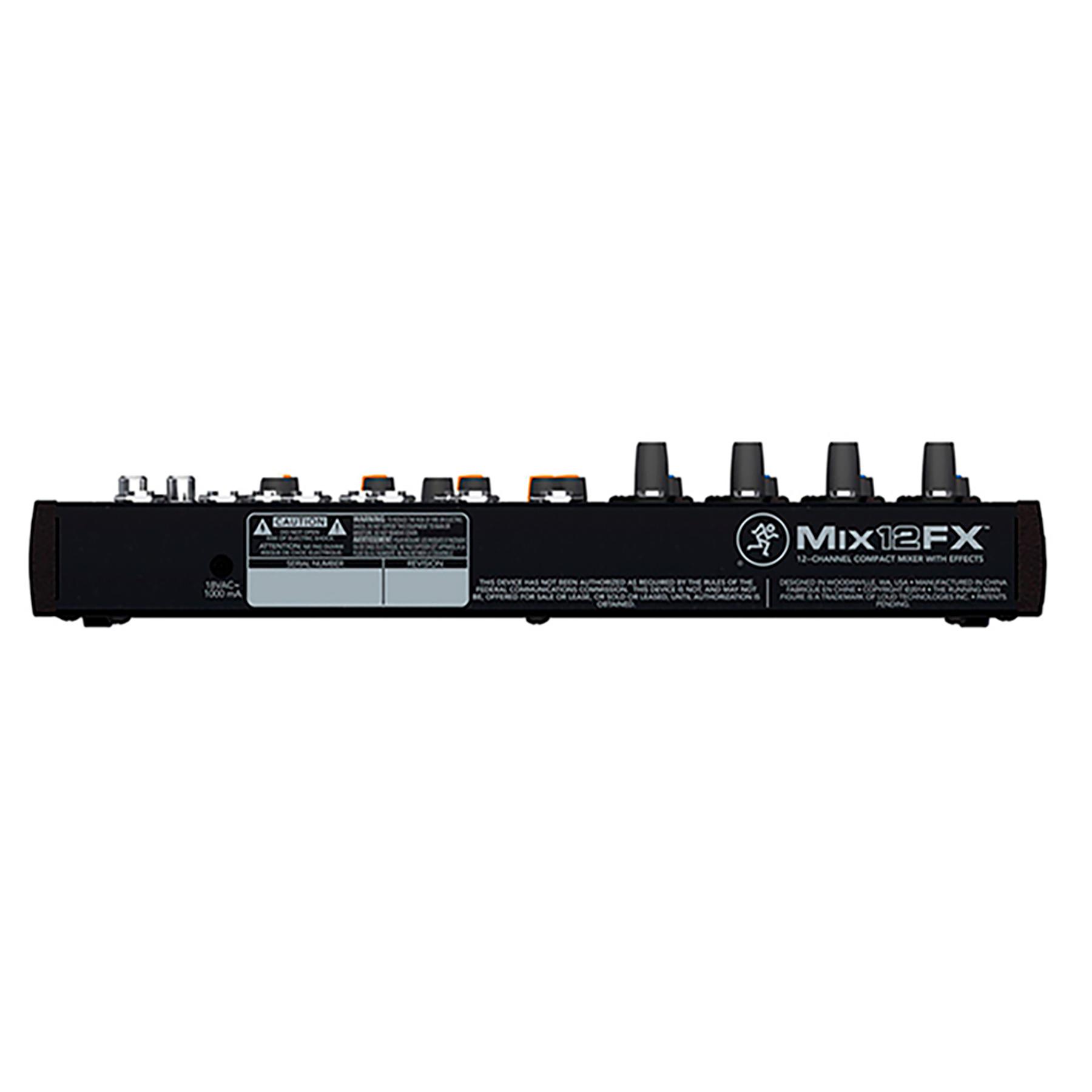 Mixer 12 Canales C/Fx Mix12Fx Mackie