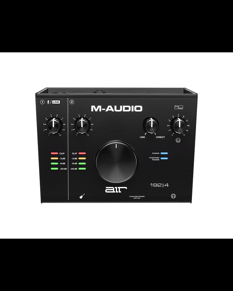 Interfaz de audio USB de 2 entradas AIR 192-4 M-Audio