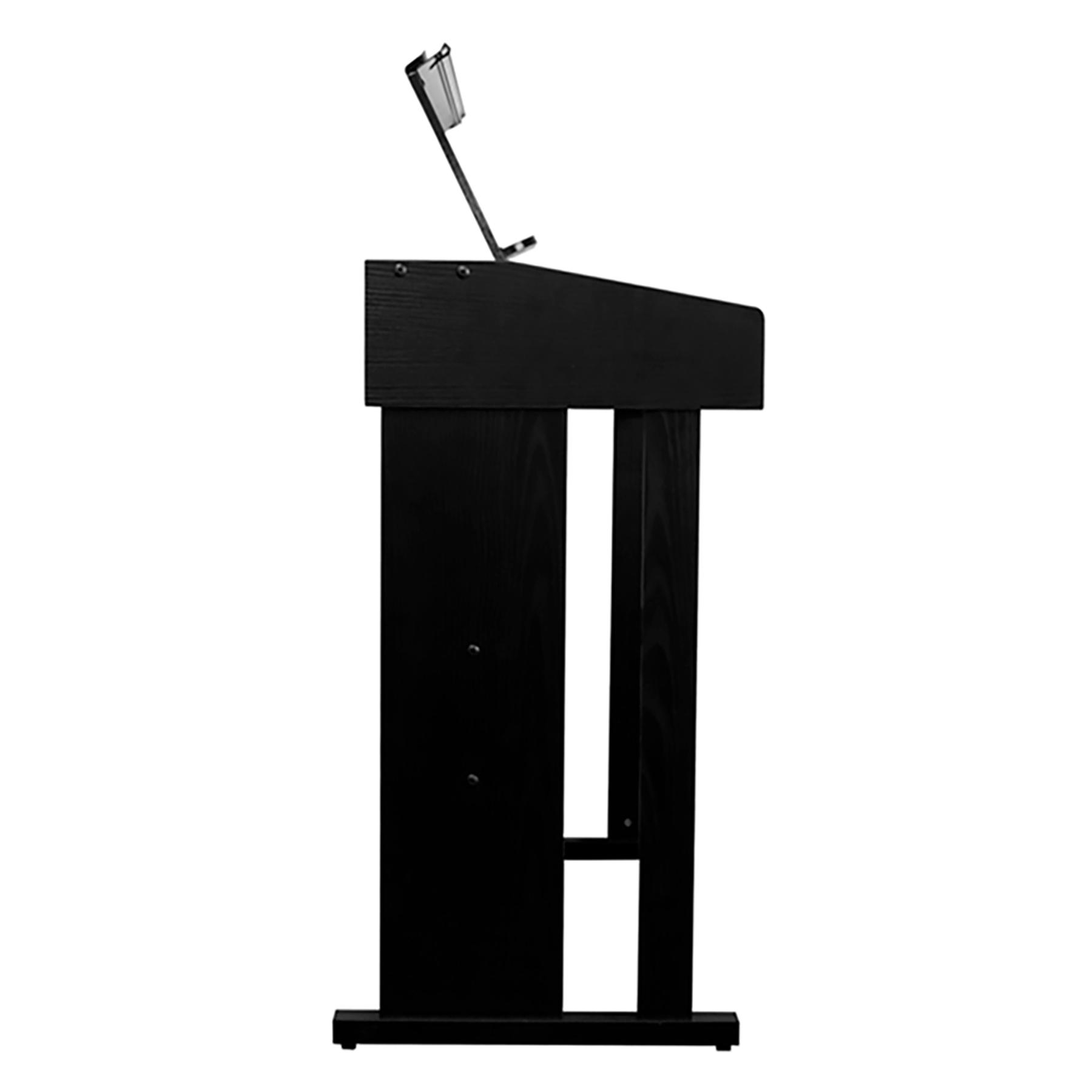 Órgano Electrónico Con Mueble Bontempi Negro