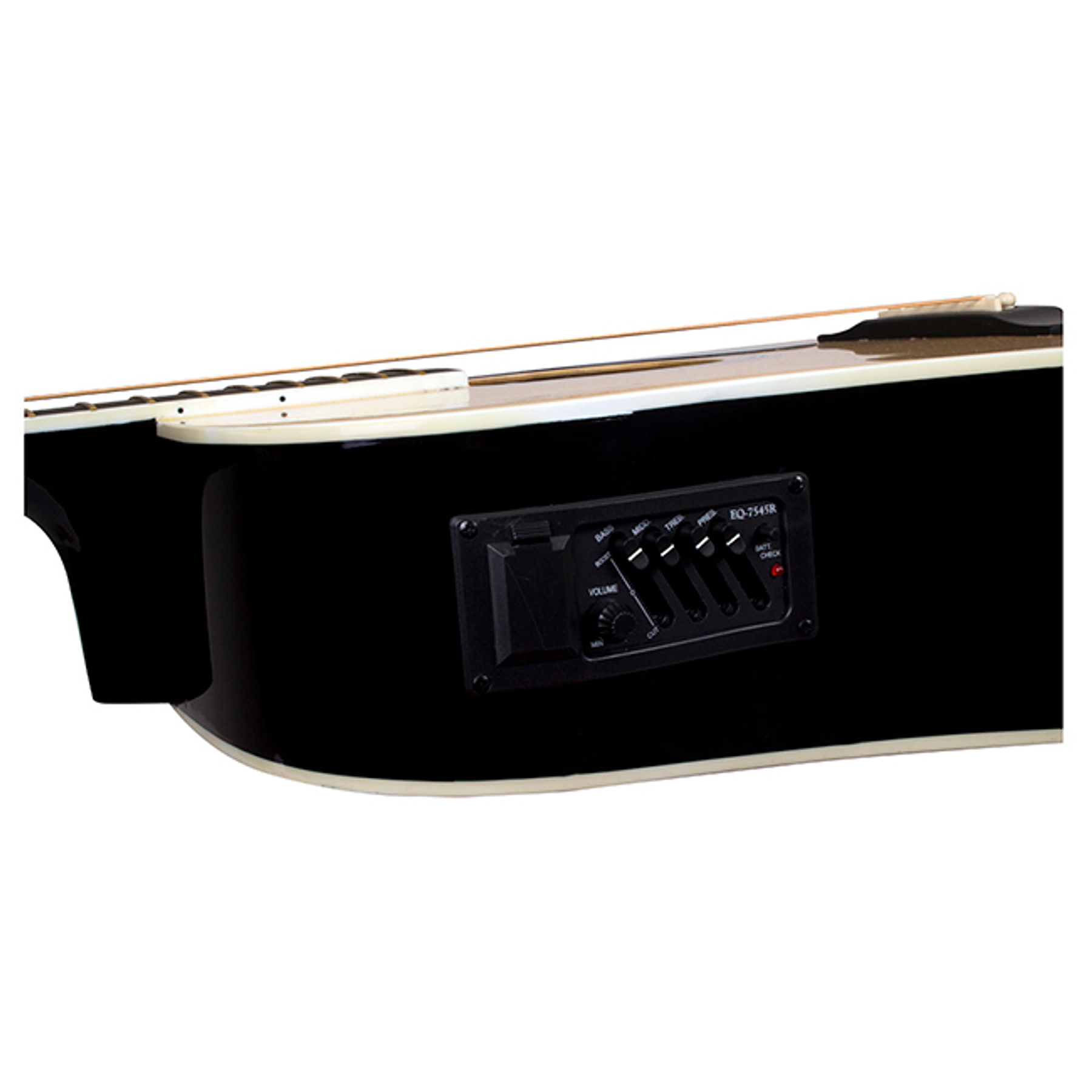 Guitarra Electroacustica MSEA1-Negra Mercury