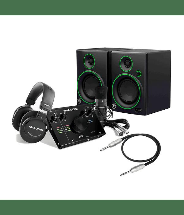 Full Pack Home Studio Air 192-4 Vocal Studio Pro M-audio Mackie