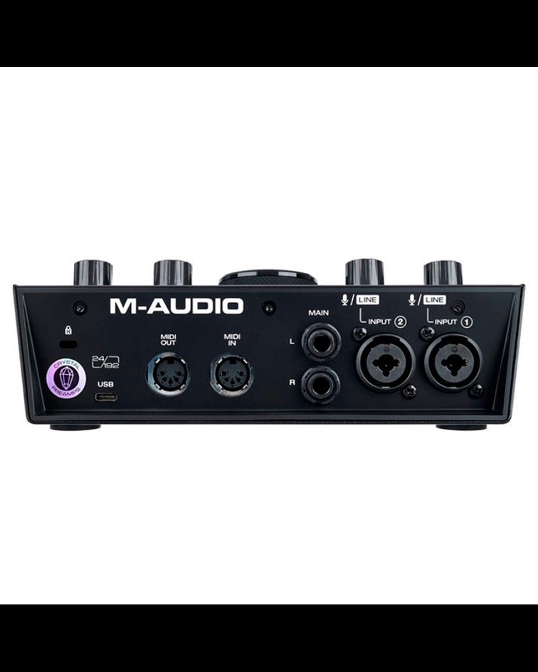 Interfaz de Audio MIDI/USB 2IN/2OUT AIR192/6 M-AUDIO