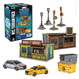 Marvel Crisis Protocol: NYC Terrain Expansion (Stock)