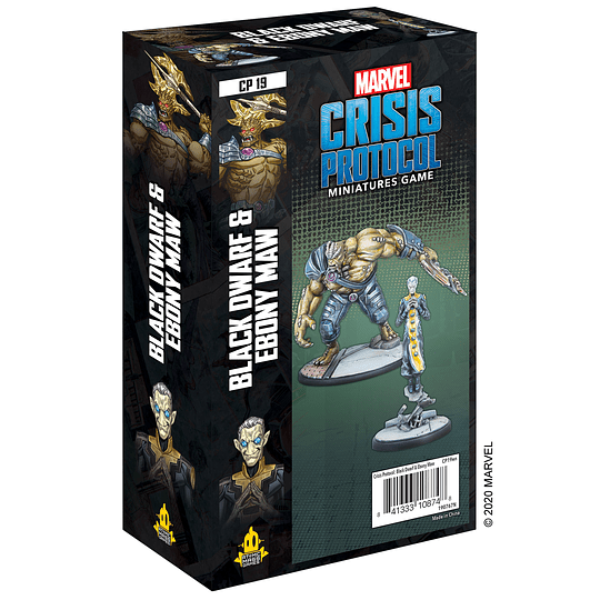 Marvel Crisis Protocol: Black Dwarf and Ebony Maw Character Pack (Pedido)