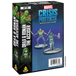 Marvel Crisis Protocol: Drax and Ronan The Accuser Character Pack (Pedido)