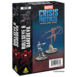 Marvel Crisis Protocol: Bullseye and Daredevil Character Pack (Pedido)