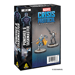 Marvel Crisis Protocol: Punisher and Taskmaster Character Pack (Preventa)