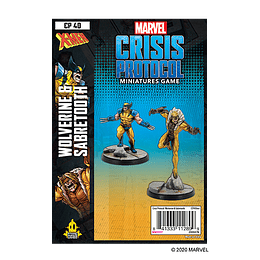 Marvel Crisis Protocol: Wolverine and Sabertooth Character Pack (Preventa)