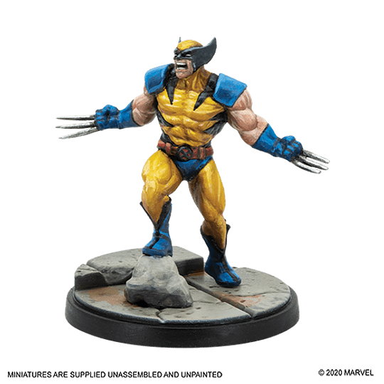 Marvel Crisis Protocol: Wolverine and Sabertooth Character Pack (Pedido)