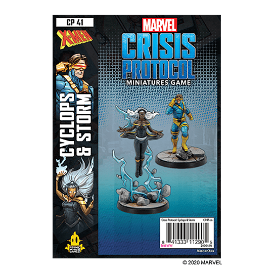 Marvel Crisis Protocol: Cyclops and Storm Character Pack (Preventa)