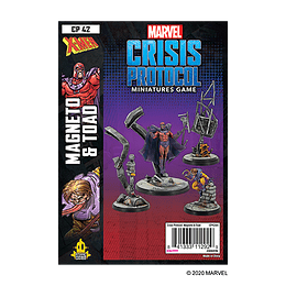 Marvel Crisis Protocol: Magneto and Toad Character Pack (Stock)