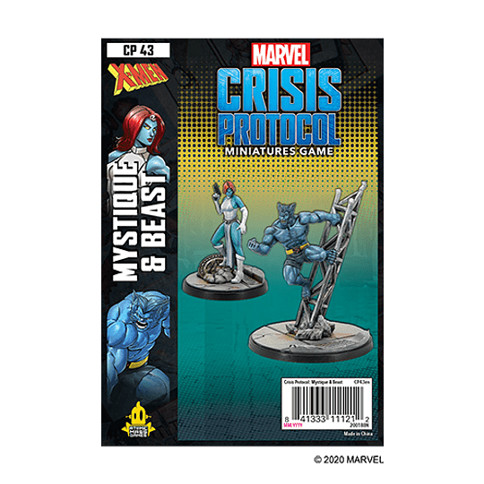 Marvel Crisis Protocol: Mystique and Beast Character Pack (Pedido)
