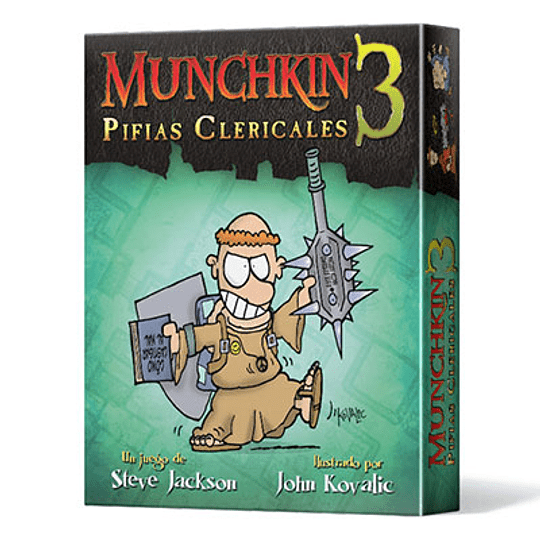 Munchkin 3: Pifias Clericales (Stock)