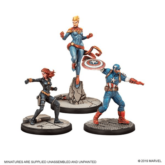Marvel Crisis Protocol Miniatures Game Core Set (Inglés) (Pedido)
