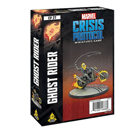 Marvel Crisis Protocol: Ghost Rider Character Pack (Pedido)