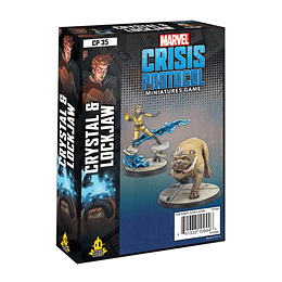 Marvel Crisis Protocol: Crystal and Lockjaw (Stock)