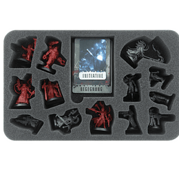 Feldherr foam tray for Blackstone Fortress: Escalation - miniatures (Pedido)