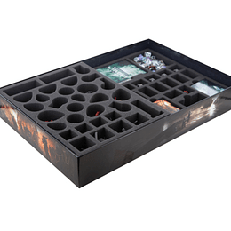 Feldherr foam tray set for Warhammer Quest: Blackstone Fortress board game box (Pedido)
