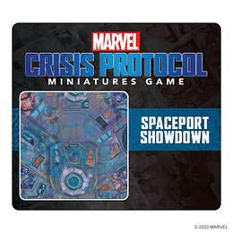 Marvel Crisis Protocol: Spaceport Showdown Game Mat (Pedido)