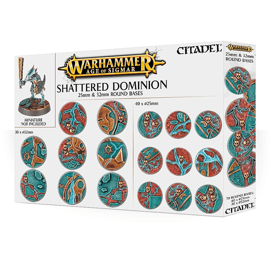Shattered Dominion 25 & 32mm Round Bases (Stock)