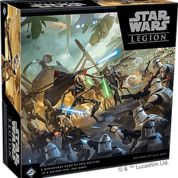 Star Wars Legion: Clone Wars Core Set Español (PEDIDO)