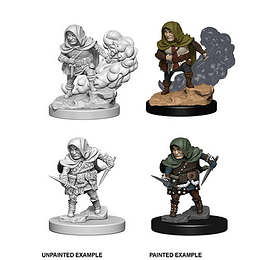 NOLZURS MARVELOUS UNPAINTED MINIS: HALFLING MALE ROGUE