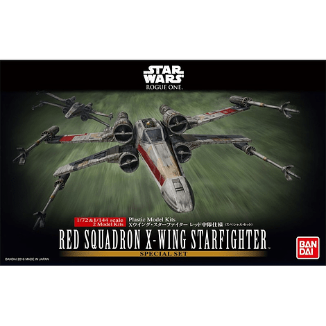 Bandai Red Squadron X-Wing Starfighter Special Set