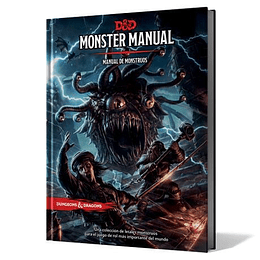 Dungeons and Dragons - Manual de Monstruos Edición Española (Pedido)