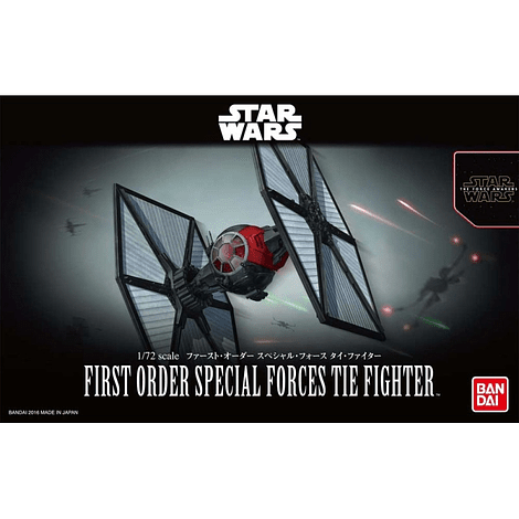 Bandai First Order Tie fighter special forces