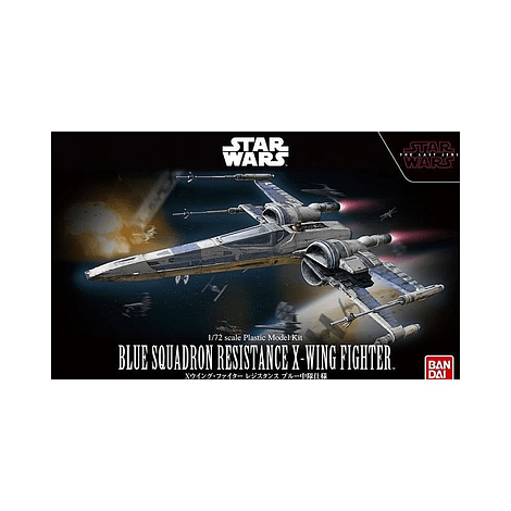 Bandai 1/72 BLUE SQUADRON RESISTANCE X-WING FIGHTER