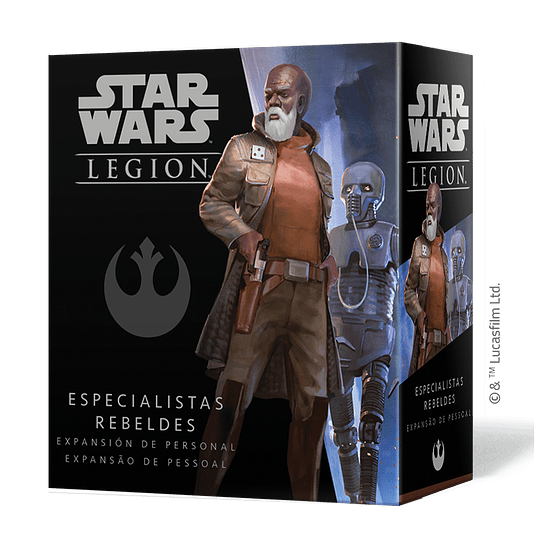 SW Legion: Especialistas Rebeldes (Pedido)