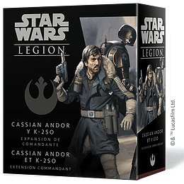 SW Legion: Cassian Andor y K-2SO (Pedido)