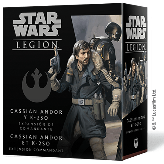 SW Legion: Cassian Andor y K-2SO (Preventa)