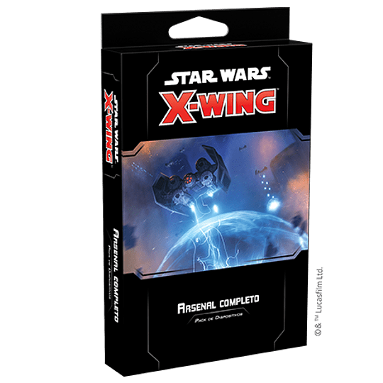 X-Wing 2nd Ed: Arsenal completo (PEDIDO)